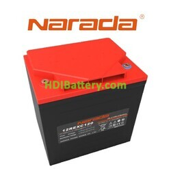 Batería solar de Plomo - Carbón 12 Voltios 120 Amperios Narada 12REXC120