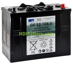 Bateria solar gel 12v 105ah Sonneschein GF12105V