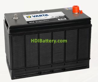 Batería Varta 12 voltios 102 ah 680A Promotive Black ref. H14 330 x 172 x 240 mm