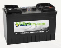Batería Varta 12 voltios 110 ah 680A Promotive Black ref. I4 347 x 173 x 234 mm