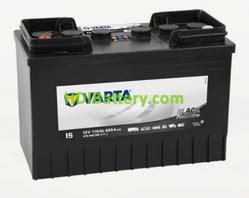 Batería Varta 12 voltios 110 ah 680A Promotive Black ref. I5 347 x 173 x 234 mm