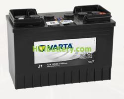 Batería Varta 12 voltios 125 ah 720A Promotive Black ref. J1 349 x 175 x 290 mm