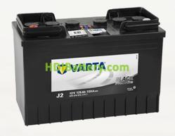 Batería Varta 12 voltios 125 ah 720A Promotive Black ref. J2 349 x 175 x 290 mm