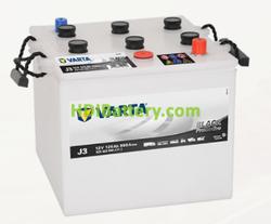 Batería Varta 12 voltios 125 ah 950A Promotive Black ref. J3 286 x 269 x 230 mm