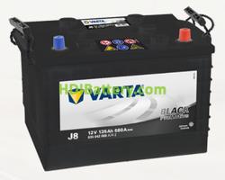 Batería Varta 12 voltios 135 ah 680A Promotive Black ref. J8 360 x 253 x 240 mm