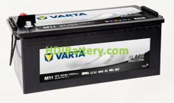 Batería Varta 12 voltios 154 ah 1150A Promotive Black ref. M11 513 x 189 x 223 mm