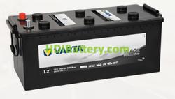 Batería Varta 12 voltios 155 ah 900A Promotive Black ref. L2 513 x 223 x 223 mm