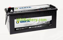 Batería Varta 12 voltios 180 ah 1400A Promotive Black ref. M12 513 x 223 x 223 mm