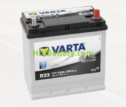 Batería Varta 12 voltios 45 ah 300A Black Dynamic ref. B23 219 x 135 x 225 mm