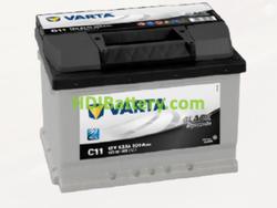 Batería Varta 12 voltios 53 ah 500A Black Dynamic ref. C11 242 x 175 x 175 mm