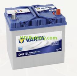 Batería Varta 12 voltios 60 ah 540A Blue Dynamic ref. D47 232 x 173 x 225 mm