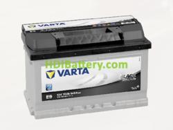 Batería Varta 12 voltios 70 ah 640A Black Dynamic ref. E9 278 x 175 x 175 mm