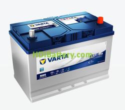 Batería Varta 12 voltios 85 Amperios 800A Blue Dynamic EFB Ref. N85 306 x 173 x 225 mm