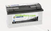 Batería Varta 12 voltios 88 ah 740A Black Dynamic  ref. B20  353 x 175 x 175 mm