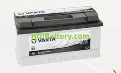 Batería Varta 12 voltios 88 ah 740A Black Dynamic ref. F5 353 x 175 x 175 mm