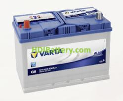 Batería Varta 12 voltios 95 ah 830A Blue Dynamic ref. G8 306 x 173 x 225 mm