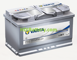 Batería Varta Professional Purpose AGM 12 voltios 80Ah 800A LA80 315 x 175 x 190 mm