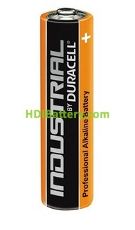 Caja 10 pilas alcalinas Duracell Industrial LR03 - AAA 1.5V 1.175Ah