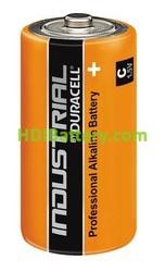 Caja 10 pilas alcalinas Duracell Industrial LR14 - C 1.5V 7.75Ah