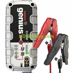 Cargador para baterías de plomo y litio ion inteligente 12v y 24v 15Ah Noco genius G15000