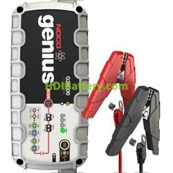 Cargador para baterías de plomo y litio ion inteligente 12v y 24v 26Ah Noco genius G26000