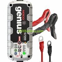 Cargador para baterías de plomo y litio ion inteligente 12v y 24v 7.2Ah Noco genius G7200