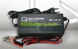 Cargador baterías de plomo y AGM 12v 5ah BL12-5