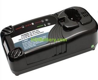 Cargador baterías NI-MH-Li-Ion de 7,2V a 18V para HITACHI