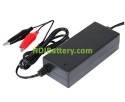 Cargador de baterías de Plomo y Gel 12V 2Ah