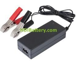 Cargador de baterías de Plomo y Gel 24V 2Ah