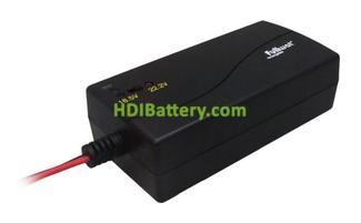 Cargador inteligente para packs de baterías Li-Ion - Li-PO (5-6 cells - 18,5V-22,2V) FULLWAT