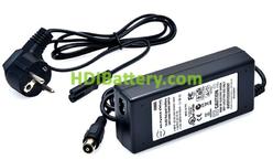 Cargador litio LIFEPO4 14.4v 3ah especial para baterías de carros de golf