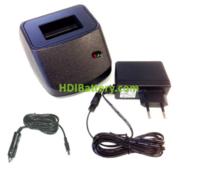 Cargador para batería de mando de grua Scanreco + conector al mechero