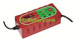 Cargador para baterías de litio, plomo, AGM y gel Zenith 24 voltios 2 Amperios ZBC2402