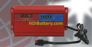 Cargador para baterías de litio, plomo, AGM y gel Zenith 48 voltios 2 Amperios ZBC4802