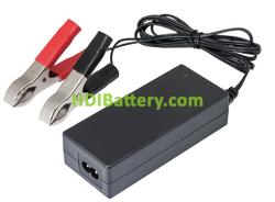 Cargador para baterías de Plomo y gel 12V 4A