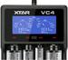 Cargador para litio-ion nimh y nicd XTAR VC4 18650