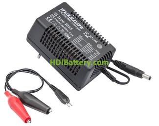 Cargador para Pack baterías de 12V a 24V Ni-Cd-NI-MH