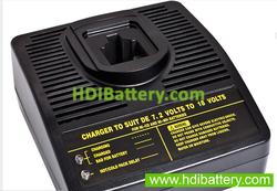 Cargador universal baterías DEWALT de 7,2 a 18V