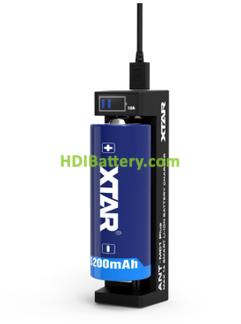 Cargador XTAR 18650 MC1 Plus ANT LI-ON