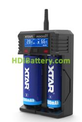 Cargador XTAR 18650 SV2 LI-ION, NI-Cd, NI-MH