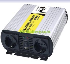 Inversor onda modificada 24Vcc-220Vca 1000W 50Hz