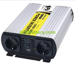 Inversor onda modificada 24Vcc/220Vca 1500W 50Hz