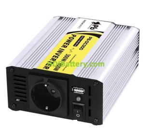 Inversor onda modificada 24Vcc-220Vca 300W 50Hz