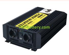 Inversor Onda Pura 12Vcc-220Vca 1500W 50Hz