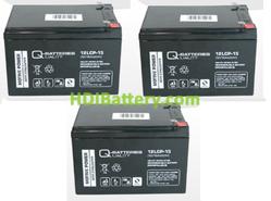 Kit de baterías para patin eléctrico Raycool Carbon Black 36V 15Ah