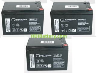 Kit de baterías para patin eléctrico Roan 1000W R6,5 36V 15Ah