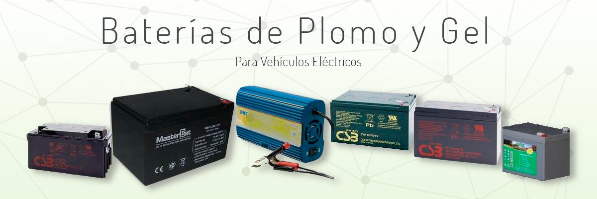 Venta de bater�as de plomo y gel para veh�culos eléctricos
