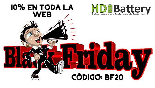 Black Friday 2020 10%Dto en toda la web. Código BF20 en tu cesta