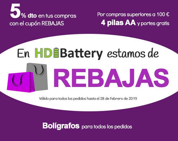 HDIBattery te hace regalos y descuentos increibles